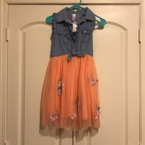 Justice Butterly Dress
